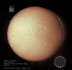 H-alpha full disk image of the Sun – 2014.08.18.