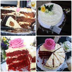 Beautiful cakes. Contact Simply Functions
