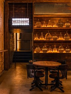 Archie Rose Distillery is an exemplary case of adaptive reuse where Acme & Co have transformed an unremarkable steel shed into a compelling establishment.