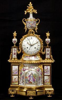"<span class=""title"">A Louis XVI mantel clock, the dial by Joseph Coteau<span class=""title_comma"">, </span></span><span class=""year"">Paris, date circa 1785</span>"
