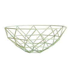House Doctor Triangle Bowl Mint  | www.stylingandco.com