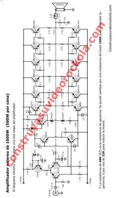 high end class ab audio amplifier circuit diagram * class h amplifier circuit diagram , class h power amplifier circuit diagram , high end class ab audio amplifier circuit diagram Electronics Projects, Hobby Electronics, Electronics Basics, Electronics Components, Crown Amplifier, Valve Amplifier, Audio Amplifier, Speakers, Dc Circuit