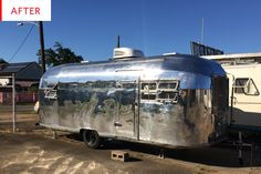 Before & After: Returning An Airstream to Its Former Glory