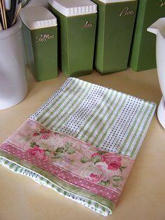 Shabby Chic theme decor tea towel   Delightful Shabby Chic t…   Flickr