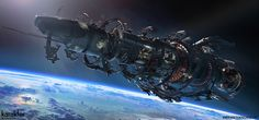 Be amazed by the art of Mike Hill, co-founder and art director at Karakter Design Studio Spaceship Design, Spaceship Concept, Concept Ships, Science Fiction, Mike Hill, Sci Fi Wallpaper, Wallpaper Wallpapers, Sci Fi Spaceships, Space Battles