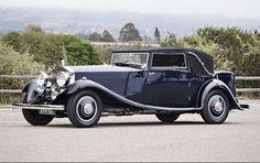 """1933 Duesenberg Model SJ Riviera"""" Phaeton by Brunn--Pebble Beach preview: 135 """"million dollar cars"""" set for auction"""