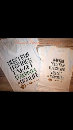 Mommy daughter shirt