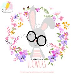 Diseño audaz: Clipart free Watercolors flowers png
