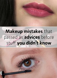 Makeup mistakes you should stop doing