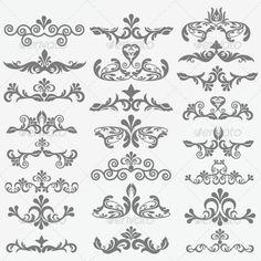 Vintage Design Elements 93 | GraphicRiver