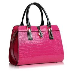 33c24a75ce Europe women leather handbags PU handbag leather women bag patent handbag