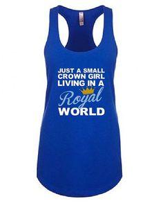 Kansas City Royals Tank Top  KC Royals Shirt  Just by KaylsDesigns
