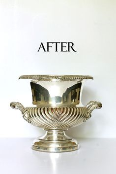 After using a salt/baking soda bath.