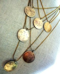 Constellations Necklaces - love them