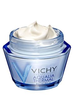 "A winter-weather essential, the hyaluronic-acid- based VICHY Aqualia Thermal Rich Cream ""locks water into skin."" ELLE  - ELLE.com"