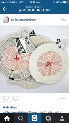 Rope basket inspiration