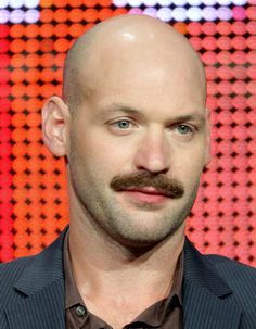 Corey Stoll moustache Corey Stoll, Facial Hair Growth, Blue Green Eyes, Male Pattern Baldness, Bald Men, Shaved Head, For Your Eyes Only, Hair And Beard Styles, Man Crush