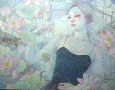 Painting by Miho Hirano. Check http://vk.com/art_tendencies for more similar artworks.