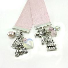 Princess Ribbon Bookmark  Fairytale / Cinderella / by bohemians, $12.00
