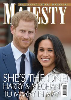 Majesty/Joe Little (@MajestyMagazine) on Twitter: Prince Harry and fiancée Meghan Markle on the cover of Majesty Magazine, January 2018