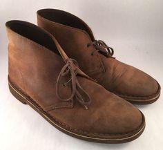 Clarks Desert Leather Boot Size 9.5M Men's    eBay