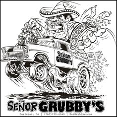 1423 best automotive cartoons drawings images rat fink 1953 Hudson Convertible instagram post by se or grubby s oct 25 2015 at 2 00am utc