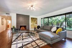 Mid Century Modern Living Room_41