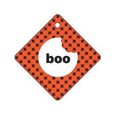25 Holiday Gift Tags: Halloween Boo from MyRecipes.com