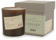 Paddywax Whitman Library candle