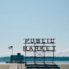 Pike Place Market Seattle.