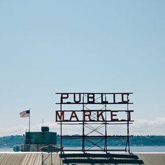 Pike Place Market Seattle.