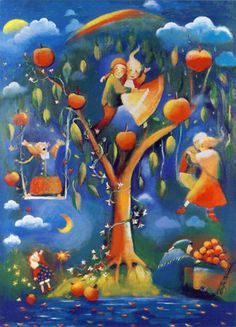 Image detail for -Private Swap from (Finland Tove Jansson, Bird Art, Finland, Colored Pencils, Painting, Postcards, Image, Garden Ideas, Illustrations