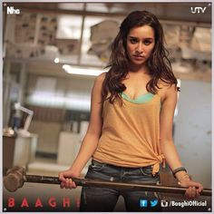 Shraddha Kapoor and Tiger Shroff from Baaghi   Baaghi: Rebels in Love: WoodsDeck