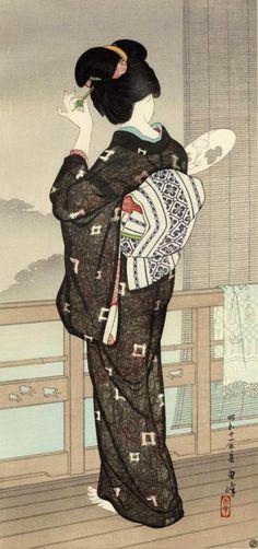 blackcoffeecinnamon:  Hirano Hakuhou (1879-1957)  平野白峰 Summer...