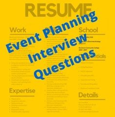 Event Planning Interview Questions That Seldom Get Asked (But Should)