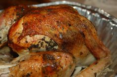 Why wait for Thanksgiving? Herb Roasted Turkey, Spice Company, Thanksgiving Turkey, Grilled Chicken, Bagel, I Foods, Entrees, Main Dishes, Grilling