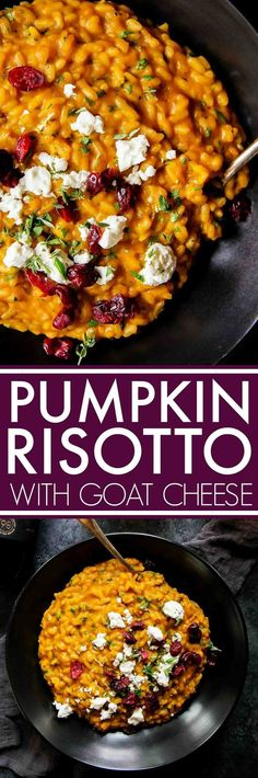Pumpkin Risotto with