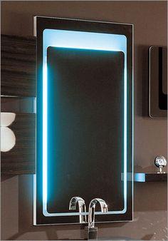 Vertical Backlight Mirror