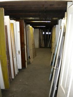 The Heritage Company, Kalamazoo Michigan  Old door heaven <3