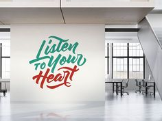 Quotes - Listen To Your Heart by Refolve on @creativemarket
