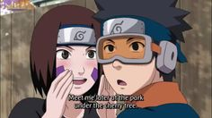 "Obito and Rin: Naruto Shippuden episode 386 ""I'm always watching"""