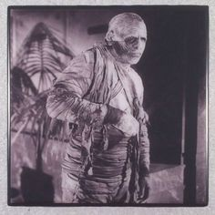 THE MUMMY Universal Pictures Movie Monsters Halloween Ceramic Tile Coaster