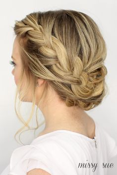 Fancy french braid updo (my soul is the sky) hair прически, French Plait Hairstyles, French Braid Updo, Box Braids Hairstyles, Braided Updo, Pretty Hairstyles, Updo Hairstyle, Protective Hairstyles, Long Hairstyles, Waterfall Braid Updo