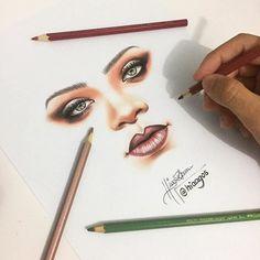 WANT A FEATURE ? CLICK LINK IN MY PROFILE !!! Tag #LADYTEREZIE Repost from @hiaagos Eu não canso de desenhar ela não adianta! Hahaha @badgalriri #wildthoughts via http://instagram.com/ladyterezie
