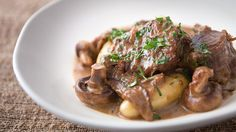 Pork Ragout with Mushroom and Cream recipe - Everyday Gourmet with Justine Schofield