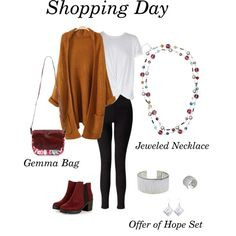 Shopping Day feat Trades of Hope by gwyn-ratcliff-valverde on Polyvore featuring MINKPINK and Miss Selfridge