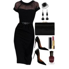 A fashion look from October 2015 featuring Christian Louboutin pumps, Jimmy Choo clutches and Lord & Taylor rings. Browse and shop related looks.