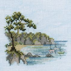 Thrilling Designing Your Own Cross Stitch Embroidery Patterns Ideas. Exhilarating Designing Your Own Cross Stitch Embroidery Patterns Ideas. Cross Stitch Sea, Cross Stitch Pillow, Cross Stitch Kits, Cross Stitch Designs, Cross Stitch Patterns, Cross Stitching, Cross Stitch Embroidery, Embroidery Patterns, Cross Stitch Landscape