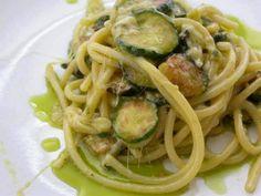 spaghetti con le zucchine (Nerano style)
