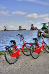 Bikes and Windmills....my Holland